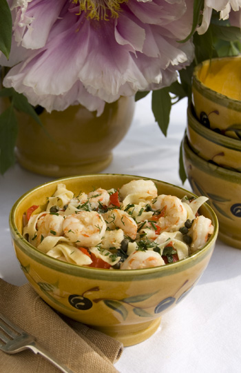 al dente pasta with shrimp, shrimp and pasta, al dente fettuccine, shrimp and fettuccine, Jenise\'s favorite