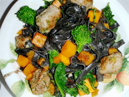 Chef Steven's Squid Ink Pasta Recipe