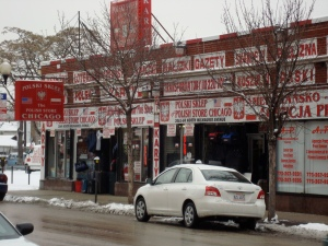 gotta love chicago's ethnic neighborhoods