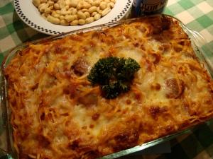 superbowl pasta bake