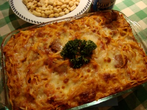 superbowl pasta bake