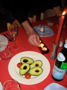 avocado vinaigrette, like in France