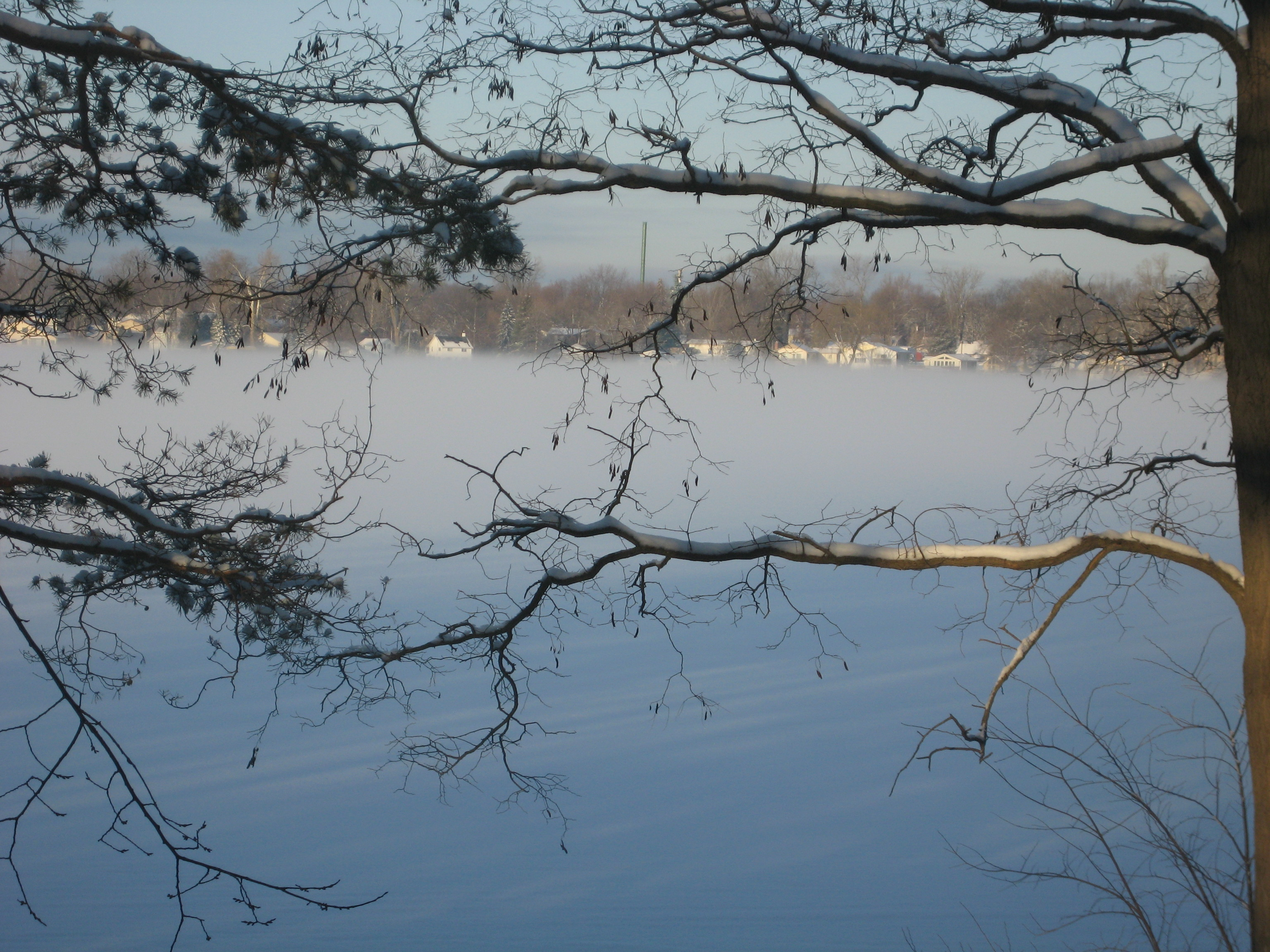 magical morning at the lake house