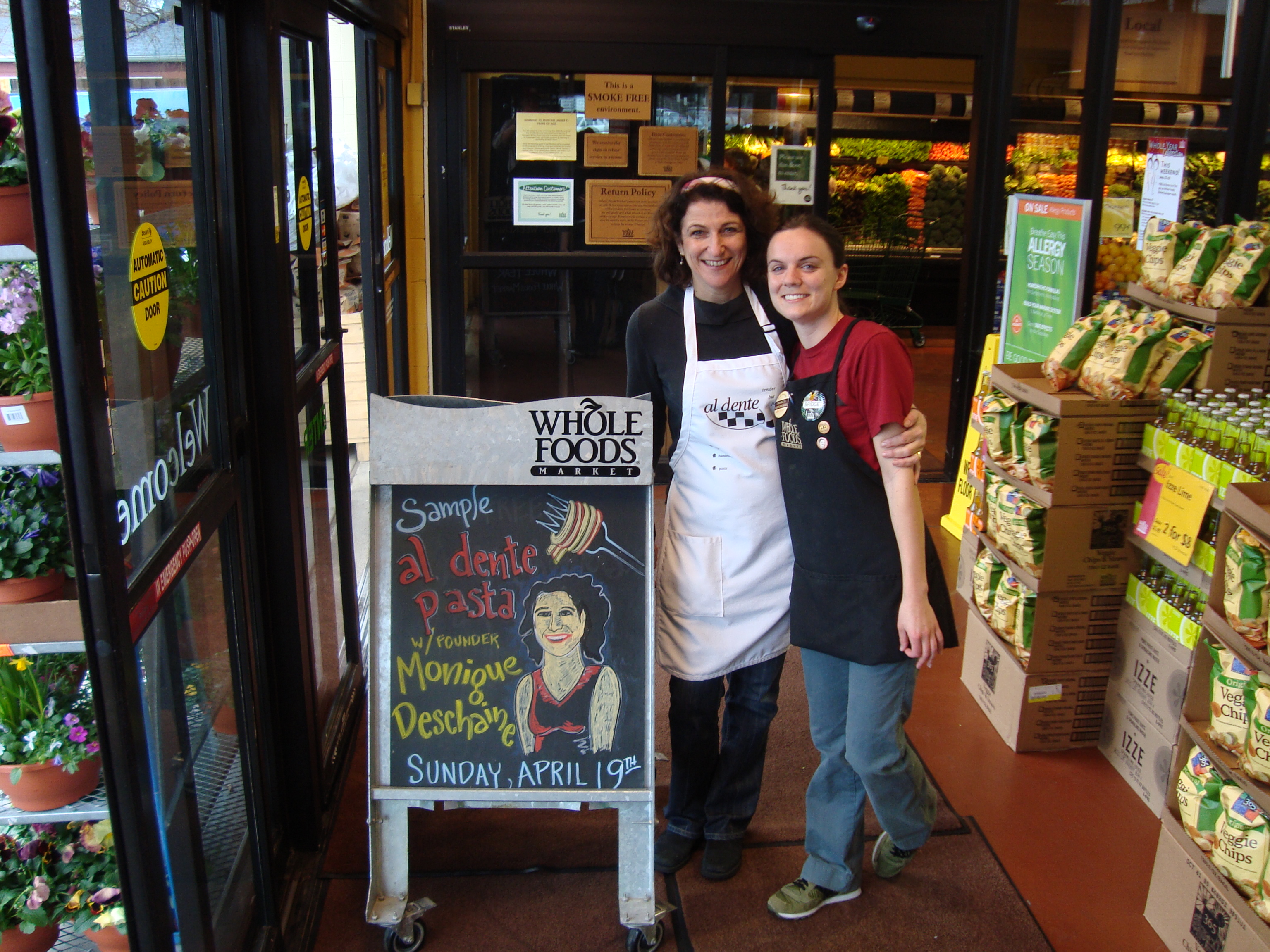 A Warm Welcome at Whole Foods Evanston