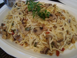 another beautiful dish of al dente pasta!