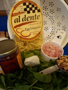 just a few ingredients to create a delicious pasta dish