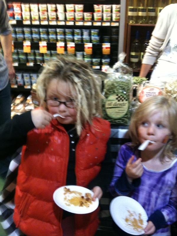 Two of Al Dente Pasta's Newest Spokespeople