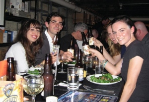 Bridget, Jean-Luc, Zoe, and Janneke