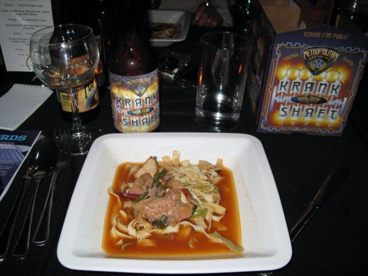 The Trotter Soup with Al Dente Pasta Noodles-Yum!