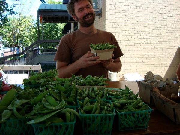 love the fresh peas